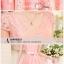 Dress4086 เดรสลูกไม้ทรงสวยสีชมพู มีผ้าผูกเอว ซิปข้างใส่ง่าย ซับในทั้งชุด ผ้าลูกไม้ยืดเนื้อนุ่มใส่สบาย งานดีทรงดีสีสวย ใส่ออกงานได้สบาย thumbnail 4