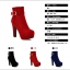 Boots รองเท้าบูท หนังกำมะหยี่สีดำ ด้านในเป็นขนสั้นนุ่มๆ งานดีเหมือนแบบค่ะ thumbnail 5