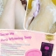Secret Me Aura Whitening Soap สบู่ตัวขาว ทับทิมผสมโยเกิร์ต thumbnail 7