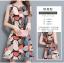 **สินค้าหมด Dress4045 ชุดเดรสทรงสวยลายใบไม้ ซิปหลังใส่ง่าย ผ้าโพลีเนื้อดีนุ่มใส่สบาย งานสวยใส่ง่ายน่ารักมาก thumbnail 5