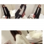 เสื้อกันหนาว ผ้าสำลีสีขาวเนื้อนุ่ม บุซับใน จั๊มแขนไหมพรม พร้อมส่ง thumbnail 10