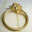 (ขายแล้วค่ะ) C009 แหวนทองเหลือง รูปดอกไม้เล็ก ขนาดความกว้างวง 2 ซม thumbnail 4