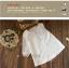 เสื้อผ้าฝ้าย แต่งลายปักน่ารัก พร้อมส่ง thumbnail 5