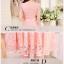 Dress4086 เดรสลูกไม้ทรงสวยสีชมพู มีผ้าผูกเอว ซิปข้างใส่ง่าย ซับในทั้งชุด ผ้าลูกไม้ยืดเนื้อนุ่มใส่สบาย งานดีทรงดีสีสวย ใส่ออกงานได้สบาย thumbnail 5
