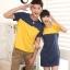 ชุดคู่รักเกาหลี พร้อมส่ง เหลืองกรม น่ารัก ราคา/คู่ thumbnail 1
