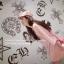 เสื้อตัวยาว/ mini dress สุดน่ารัก ผ้ามีลายในตัว สีชมพูโอรส พร้อมส่ง thumbnail 3