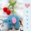 ตุ๊กตาถัก ช้างน้อย + สายคล้องเชอร์รี่ thumbnail 1