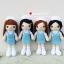 """ตุ๊กตาถัก พยาบาลนักศึกษา ฝึกงาน 9"""" thumbnail 2"""