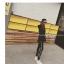 กางเกงขายาว ผ้าคอตตอนผสม ด้านในเป็นผ้าสำลี สกรีนลายตัวอักษรด้านข้าง พร้อมส่ง thumbnail 4