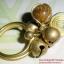 (ขายแล้วค่ะ) C013 แหวนทองเหลือง ลายก้นหอย ประดับหินไทเกอร์ thumbnail 1