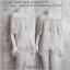 Set_bp711 ชุดเซ็ท 2 ชิ้น(เสื้อ+กางเกง) เสื้อเปิดไหล่แขนสามส่วน+กางเกงขาสั้นเอวยืด ผ้าไหมอิตาลีลายพุดเดิ้ลผสมลายจุดพื้นสีขาว thumbnail 1