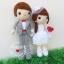 """ตุ๊กตาถัก คนแต่งงาน 9"""" (4) thumbnail 2"""