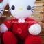 คิตตี้คู่บ่าวสาวชุดสีแดง 8 นิ้ว thumbnail 3
