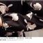 **สินค้าหมด Dress4073 ชุดเดรสแขนยาวยาวคอปกเชิ้ต กระดุมหน้าครึ่งตัว เอวสม็อคยางยืด(มีผ้าผูกเอวหรือผูกคอก็ได้จ้า) ผ้าโพลีเนื้อดีเกรดพรีเมียมลายดอกไม้ขาวพื้นสีดำ งานดีทรงดี ผ้าสวยเกินราคา ทรงนี้ใส่ได้บ่อยไม่เอ๊าท์เลยจ้า thumbnail 10
