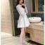 Dress3769 ชุดเดรสลูกไม้แขนยาวสีขาวงานเกรดพรีเมียม อกซีทรู คอแต่งลูกไม้ฉลุ มีซับในอย่างดีทั้งชุด ซิปหลัง งานผ้าลูกไม้อัดผ้ากาวเนื้อหนาสวยอยู่ทรง งานสวยหรูดูแพงสุดๆ แนะนำเลยจ้า thumbnail 25