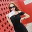 Maxi Dress แม็กซี่เดรสยาว โชว์ไหล่พร้อมแต่งระบายเพิ่มความน่ารัก พร้อมส่งจ้า thumbnail 3
