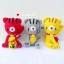 """ตุ๊กตาถัก แมวกวักญี่ปุ่น 5"""" thumbnail 4"""