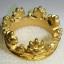 (ขายแล้วค่ะ) C008 แหวนรูปมงกุฎ ทองเหลือง100% thumbnail 4