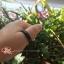 BJR01แหวนหยกดำหยกพม่าแท้ไม่ได้ใส่สี size 68 thumbnail 3