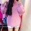 Sweater เสื้อไหมพรมถัก มีประกายวิ้งๆ ในตัว สีชมพู ใส่ตัวเดี๋ยวได้เลยเก๋ๆ ยืดได้เยอะ น่ารักมากจ้าา thumbnail 3