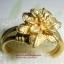(ขายแล้วค่ะ) C009 แหวนทองเหลือง รูปดอกไม้เล็ก ขนาดความกว้างวง 2 ซม thumbnail 1