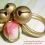 (ขายแล้วค่ะ) C017 แหวนทองเหลือง ประดับฮกลกซิ่วกระดิ่ง thumbnail 1