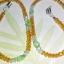(ขายแล้วค่ะ) M011 สายคล้องแว่นตา(คริสตัลโมดาร์) เหลือง thumbnail 2