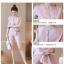 **สินค้าหมด Set_bp1577 ชุดเซ็ท 2 ชิ้น(เสื้อ+กางเกง) เสื้อคอกลมแขนสั้น กางเกงขาสั้นซิปข้าง มีกระเป๋าข้าง และผ้าผูกเอวเข้าชุด ผ้าเนื้อดีเกรดพรีเมียมเนื้อหนาสวยมีน้ำหนัก งานเซ็ทสองชิ้นสวยคุ้ม งานน่ารักผ้าสวยเกินราคา ใส่เก๋ๆ ได้บ่อย **เหลือสีชมพูสีเดียวจ้า thumbnail 5
