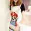 ชุดเอี๊ยม สีเทา jumpsuit Super Mario เอวยืด พร้อมสายเอี๊ยมแบบถอดได้ น่ารักมากๆ thumbnail 1