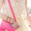 พร้อมส่ง - Lady Twinkle Glam Mini dress มินิเดรสแต่งเลื่อมและลูกปัดสีครีม thumbnail 4