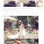 เสื้อตัวยาว/ mini dress สุดน่ารัก ผ้าฝ้ายปักลายหวานๆ พร้อมส่ง thumbnail 7