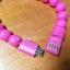 สายชาร์จ ซัมซุง +Micro USB แบบสร้อยขอมือลุกปัด thumbnail 3