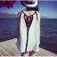 Mini Dress เสื้อสายเดี่ยวซีทรู สุดเก๋ ใส่ทับชุดว่ายน้ำหรือเสื้อสายเดี่ยวครึ่งตัวเก๋ๆ ก็ชิคกันแบบสุดๆ thumbnail 3