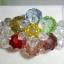 (ขายแล้วคะ) L04 สร้อยข้อมือถักรูปดอกไม้ หลายสี คริสตัลโมดาร์ thumbnail 2