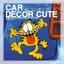 GARFIELD-สติ๊กเกอร์ติดตกแต่งรถยนต์ลายกาฟิลด์ thumbnail 1