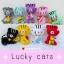 """ตุ๊กตาถัก แมวกวักญี่ปุ่น 5"""" thumbnail 1"""