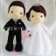 ตุ๊กตาแต่งงาน แบบ A thumbnail 3