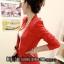 พร้อมส่ง - สีแดง เสื้อสูท เก๋ๆ ทรงสวย thumbnail 2