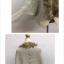 เสื้อกันหนาวถักไหมพรม ทรงสวย แต่งขนเฟลอ หรูๆ ผู้ดีมากๆ thumbnail 6