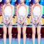 Set_bp1551 ชุด 2 ชิ้น(เสื้อ+กางเกง) เสื้อคอกลมไหล่ล้ำสีพื้นขาวผ้าเนื้อดีแต่งขอบลายริ้วขาวแดง กางเกงขาสั้นลายสตรอเบอรี่สีพื้นฟ้าพาสเทลซิปข้างผ้าฮานาโกะเนื้อดีมีซับใน งานน่ารักแมทช์กันได้อย่างลงตัว thumbnail 9