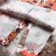 SALE!! Dress3754 ชุดเดรสแขนยาวทรงสวยสไตล์วินเทจ กระดุมหน้า คอปืน ผ้าเนื้อดีลายดอกไม้โทนสีส้ม งานสวยแพทเทิร์นเป๊ะ ทรงเรียบหรูดูดี ใส่ทำงาน/ออกงานได้ thumbnail 24