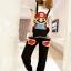 ชุดเอี๊ยม สีดำ jumpsuit Super Mario เอวยืด พร้อมสายเอี๊ยมแบบถอดได้ น่ารักมากๆ thumbnail 1
