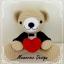 """หมีแต่งงาน ท่านั่ง 10"""" thumbnail 3"""