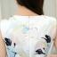 **สินค้าหมด Dress3949 เดรส+เข็มขัด ชุดเดรสทรงสวย มีซิปหลังใส่ง่าย ช่วงเอวเข้ารูป พร้อมเข็มขัดเข้าชุดอย่างดี มีซับในทั้งชุด ผ้าซาตินซิลค์เนื้อดีหนาสวยลายดอกไม้โทนสีฟ้าขาว งานน่ารักทรงสวยเรียบหรู ใส่เมื่อไหร่ก็สวย ได้ไปถูกใจแน่นอนจ้า thumbnail 10