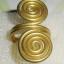 (ขายแล้วค่ะ) C005 แหวนรูปก้นหอย ทองเหลือง100% thumbnail 1