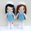 """ตุ๊กตาถัก พยาบาลนักศึกษา ฝึกงาน 9"""" thumbnail 1"""
