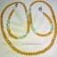 (ขายแล้วค่ะ) M011 สายคล้องแว่นตา(คริสตัลโมดาร์) เหลือง thumbnail 1