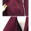 เสื้อโค้ทกันหนาว ทรงเรียบหรู มีสไตล์ ผ้าวูลเนื้อดีหนานุ่ม บุซับในกันลม สีแดงเลือดหมู พร้อมส่งจ้า thumbnail 5