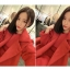 เสื้อโค้ทกันหนาว สีแดง ทรงโคล่ง เกาหลีมากๆ ผ้าวูลผสมสักกะหลาด ผ้าดีมากๆ บุซับในกันลมอย่างดี พร้อมส่ง Overcoat thumbnail 9