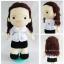 ตุ๊กตาชุดสาธารณสุขขาว thumbnail 2